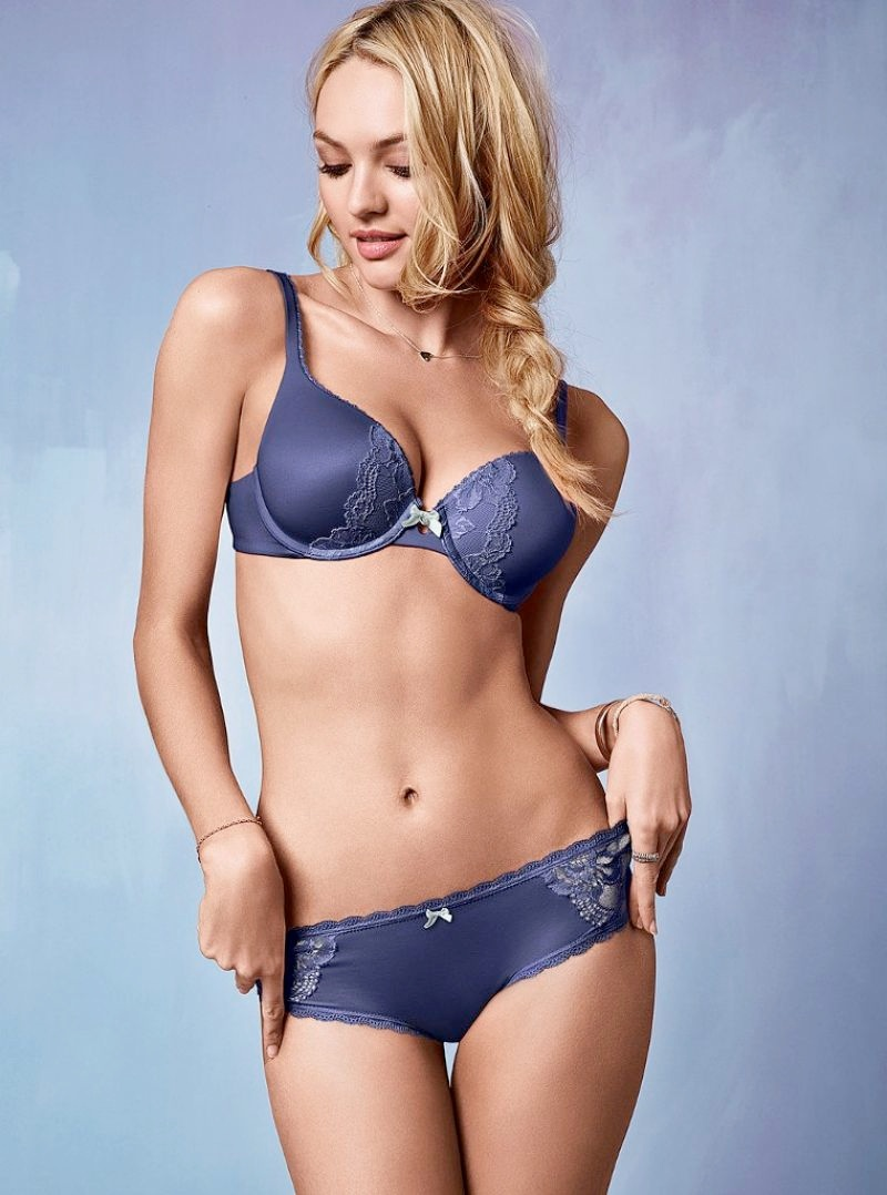 candice victorias secret photos8 Candice Swanepoel is Sweet & Sexy in Victorias Secret Photos