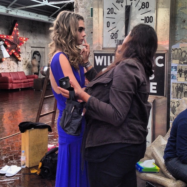 cara bts bobo1 Cara Delevingne Shoots Upcoming BO.BÔ Ads with Ellen von Unwerth