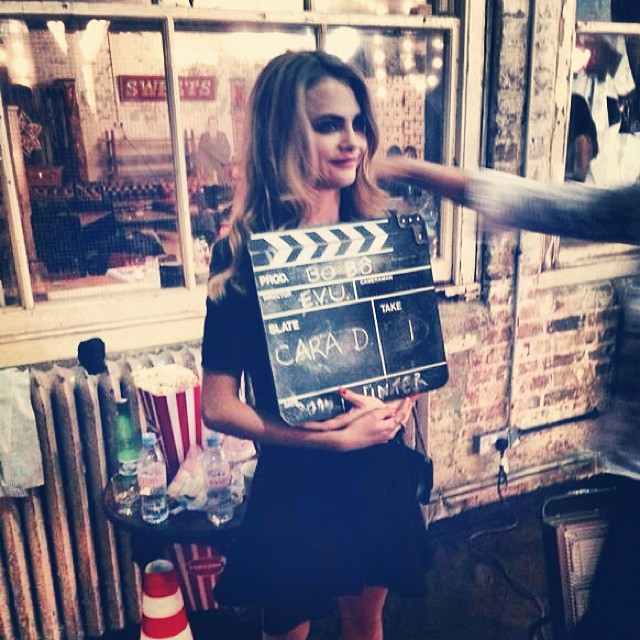 cara bts bobo6 Cara Delevingne Shoots Upcoming BO.BÔ Ads with Ellen von Unwerth