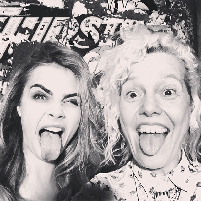 cara bts bobo8 Cara Delevingne Shoots Upcoming BO.BÔ Ads with Ellen von Unwerth
