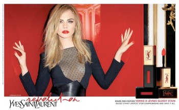Hot Shots! Cara Delevingne's New Ads for YSL Beauty