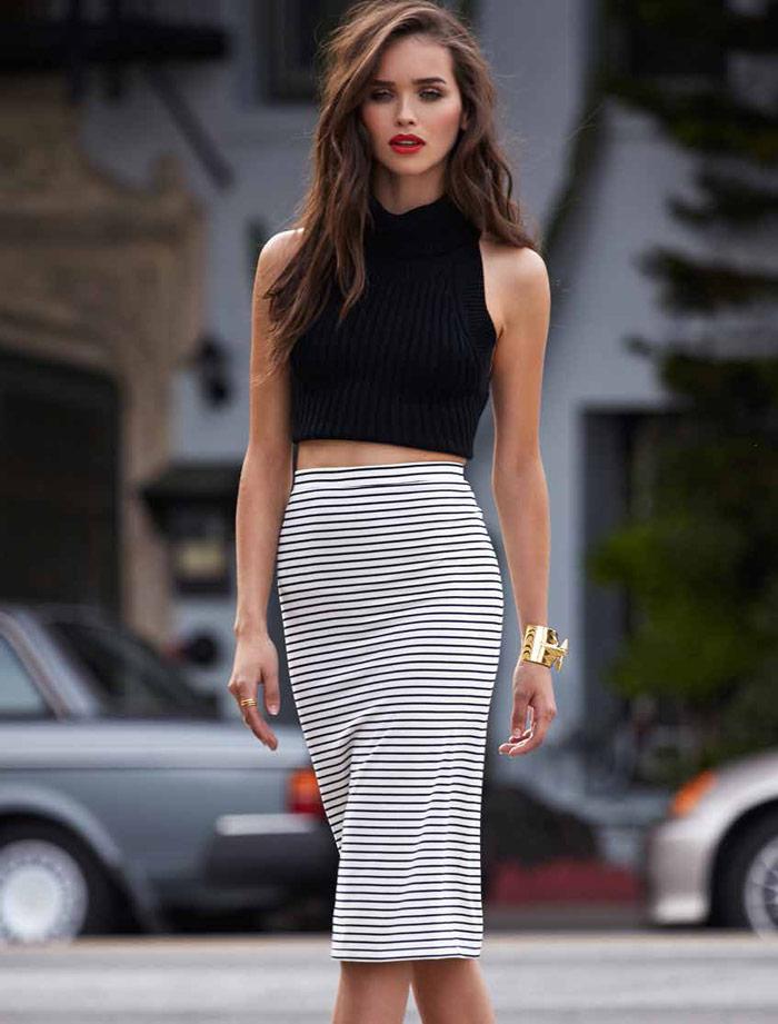 Carolina Sanchez Models for Lovers + Friends Summer Lookbook