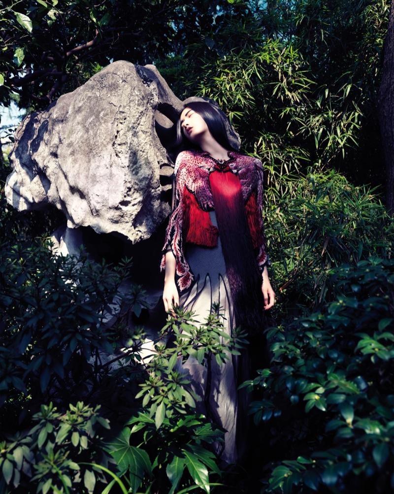 Cici Xiang Enchants for Stockton Johnson in Harper's Bazaar Vietnam