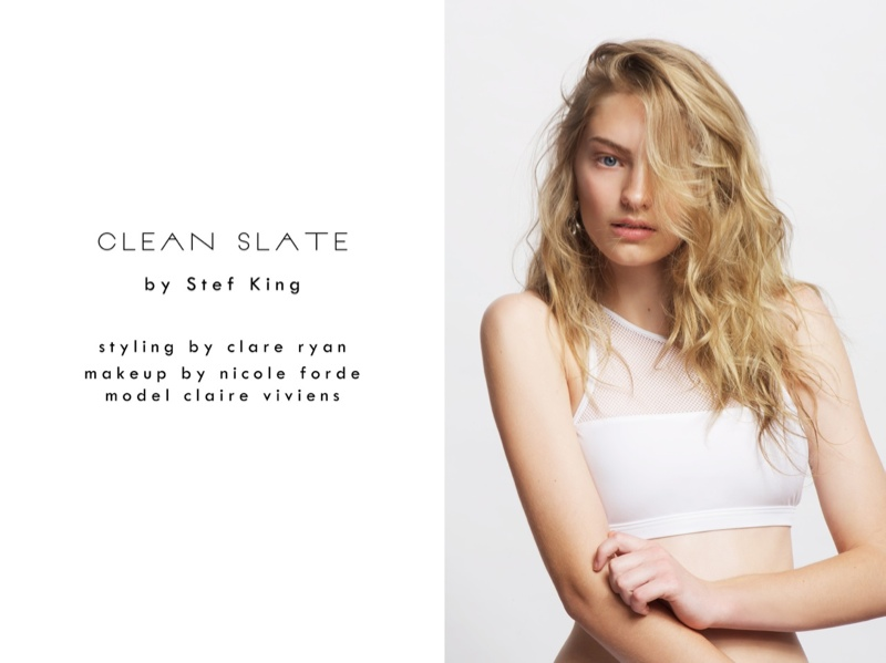 New Face Claire Poses for Stef King