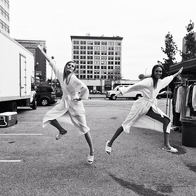 constance joan jumping Instagram Photos of the Week | Toni Garrn, Bar Refaeli, Behati Prinsloo + More