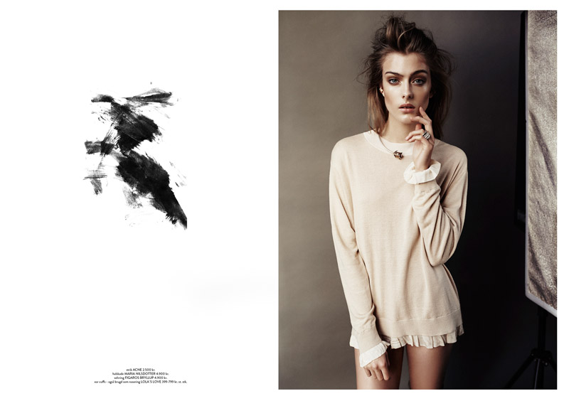 Lone Praesto Poses for Honer Akrawi in Costume Magazine Feature