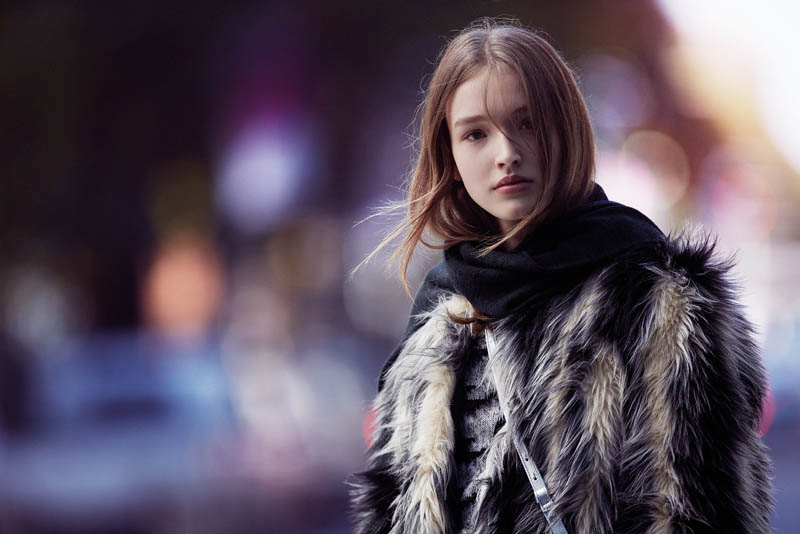 Gabby Dover, Seon Hwang + Maddison Brown Front Cue Winter 2014 Campaign