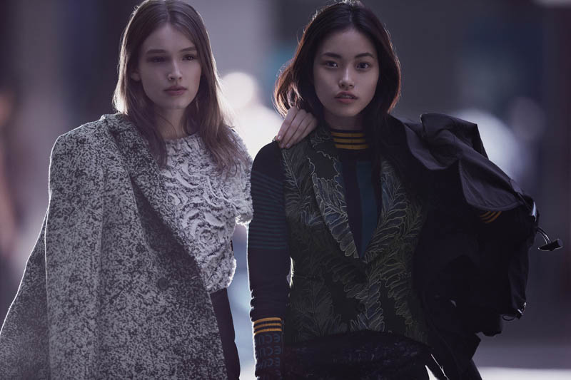 cue fall 2014 campaign9 Week in Review | Edita in Lingerie, Emily for REVOLVE, GRAMMY Style + More
