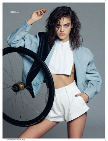 Daria Pleggenkuhle Stars in Elle Mexico February 2014 by Paul Morel