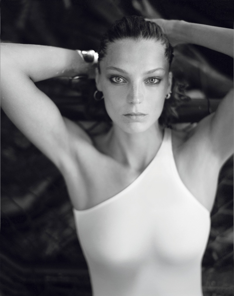 daria photo shoot1 Daria Werbowy Hits the High Seas for LEquipe Sport & Style