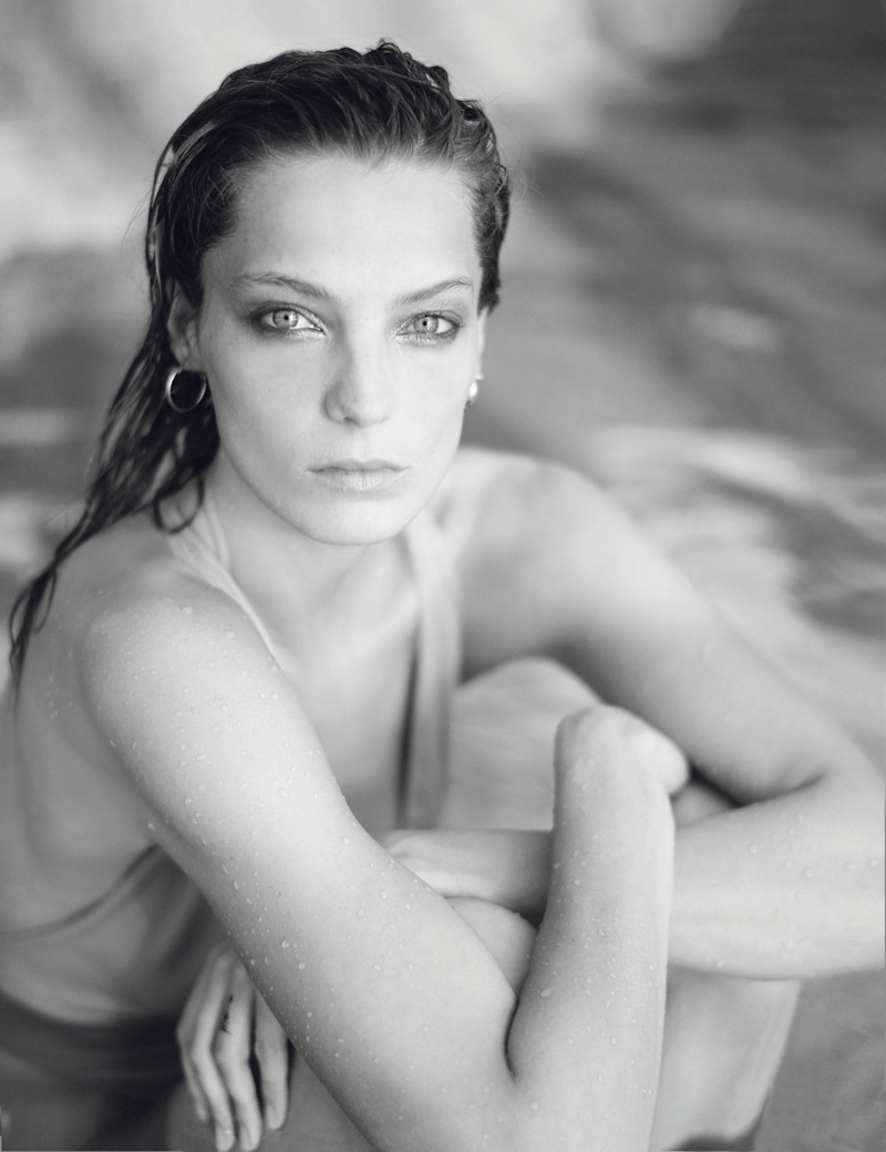 daria photo shoot7 Daria Werbowy Hits the High Seas for LEquipe Sport & Style