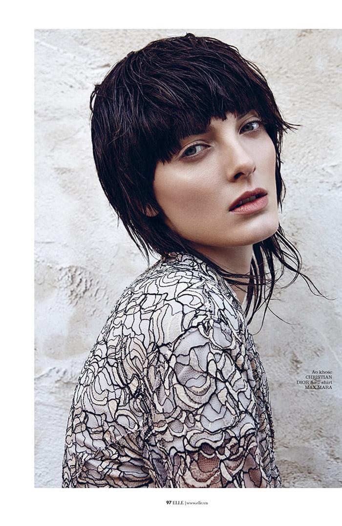 Denisa Dvorakova is Rock Glam for Elle Vietnam by Branislav Simoncik