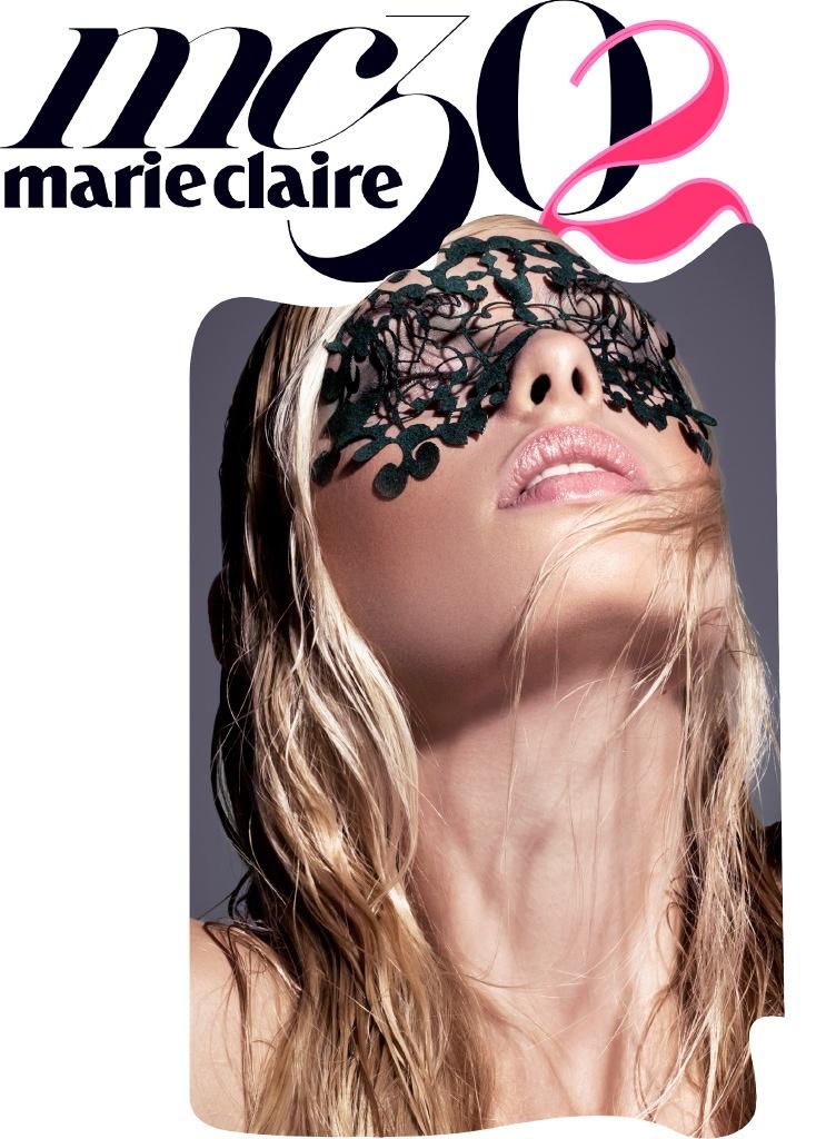 Dioni Tabbers Stuns for Marie Claire Greece by Iakovos Kalaitzakis