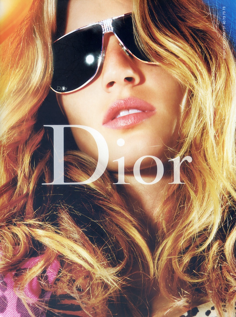 dior fall 2004 campaign4 Throwback Thursday | Gisele Bundchen for Dior Fall 2004 Campaign