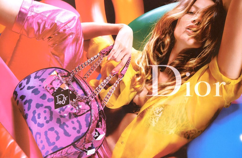 dior fall 2004 campaign6 Throwback Thursday | Gisele Bundchen for Dior Fall 2004 Campaign