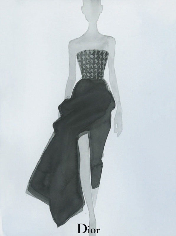Dior Illustrated by Mats Gustafson