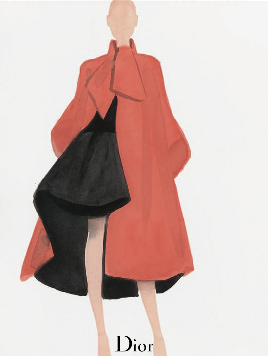 dior illustrations3 Dior Illustrated by Mats Gustafson