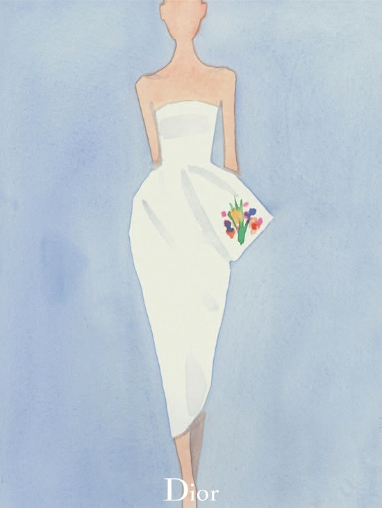 dior illustrations5 Dior Illustrated by Mats Gustafson