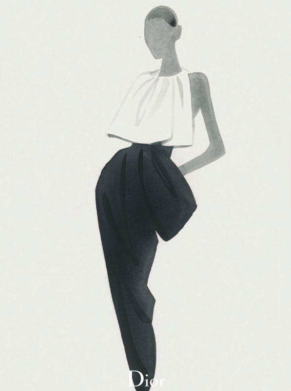 dior illustrations6 Dior Illustrated by Mats Gustafson
