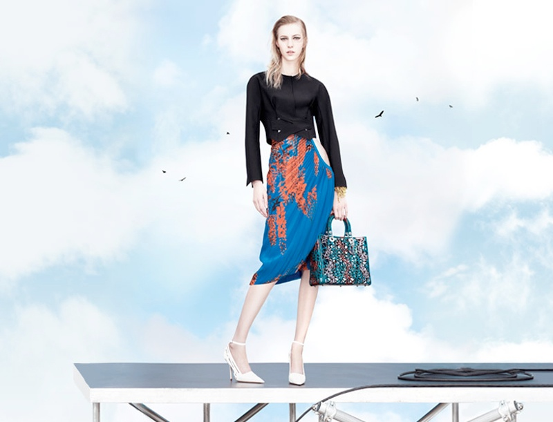 dior spring 2014 ad2 Stella Tennant, Edie Campbell + More for Dior Spring/Summer 2014 Campaign
