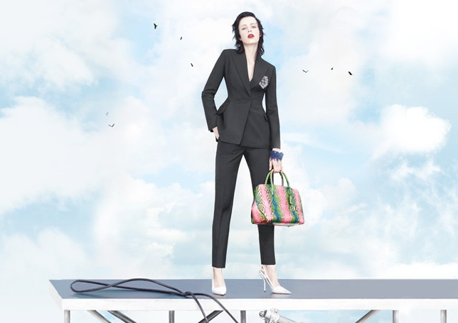 dior spring 2014 ad3 Stella Tennant, Edie Campbell + More for Dior Spring/Summer 2014 Campaign