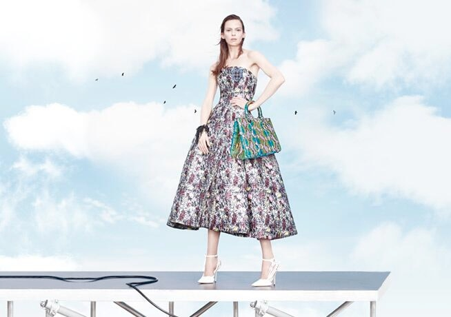 dior spring 2014 ad4 Stella Tennant, Edie Campbell + More for Dior Spring/Summer 2014 Campaign