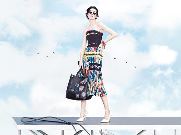 dior spring 2014 ad5 Stella Tennant, Edie Campbell + More for Dior Spring/Summer 2014 Campaign