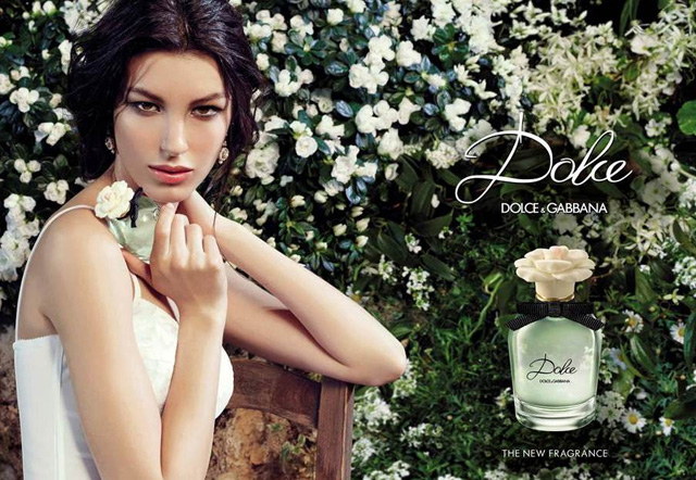 dolce dolce gabbana fragrance Kate King Lands Dolce by Dolce & Gabbana Fragrance Campaign