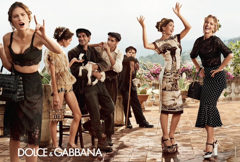 dolce gabbana spring summer campaign 1 More Photos of Dolce & Gabbanas Spring/Summer 2014 Ads