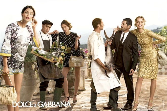 dolce gabbana spring summer campaign 2 More Photos of Dolce & Gabbanas Spring/Summer 2014 Ads