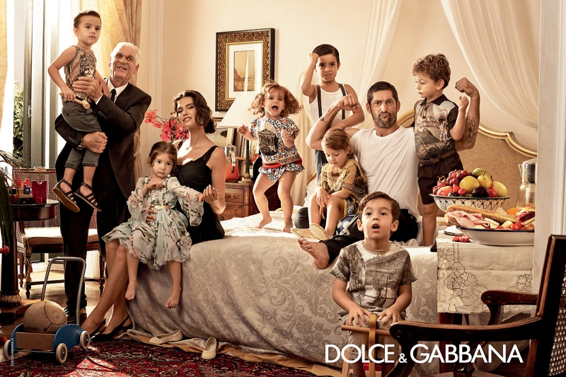 More Photos of Dolce & Gabbana's Spring/Summer 2014 Ads