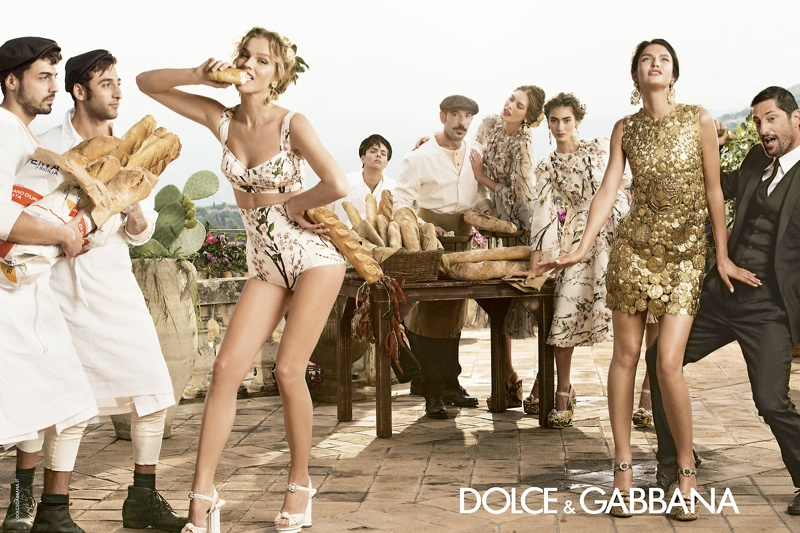 dolce gabbana spring summer campaign 5 More Photos of Dolce & Gabbanas Spring/Summer 2014 Ads