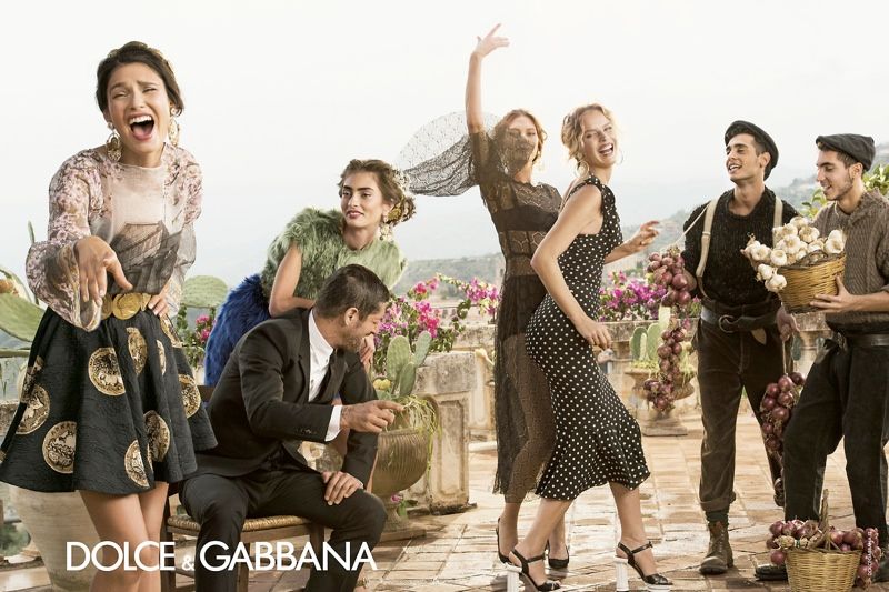 dolce gabbana spring summer campaign 6 More Photos of Dolce & Gabbanas Spring/Summer 2014 Ads