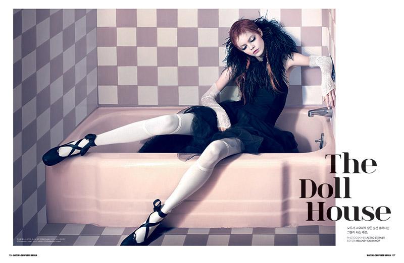 Astrid Sterner Captures the 'Doll House' for Dazed & Confused Korea