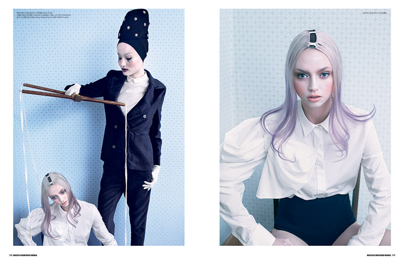 doll house 2 Astrid Sterner Captures the Doll House for Dazed & Confused Korea