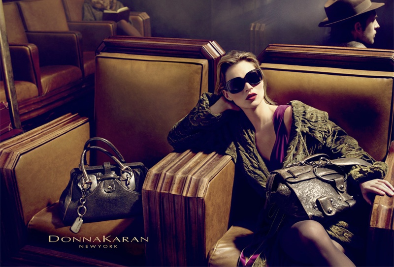 donna karan fall 20081 Throwback Thursday | Kate Moss for Donna Karan Fall 2008 Campaign