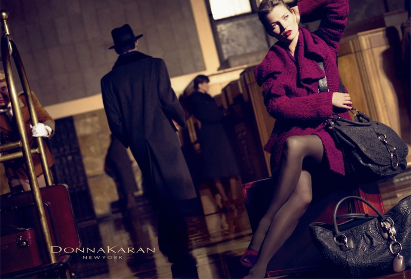 donna karan fall 20082 Throwback Thursday | Kate Moss for Donna Karan Fall 2008 Campaign