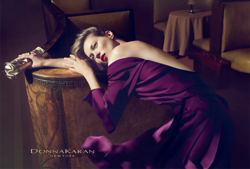 donna karan fall 20083 Throwback Thursday | Kate Moss for Donna Karan Fall 2008 Campaign