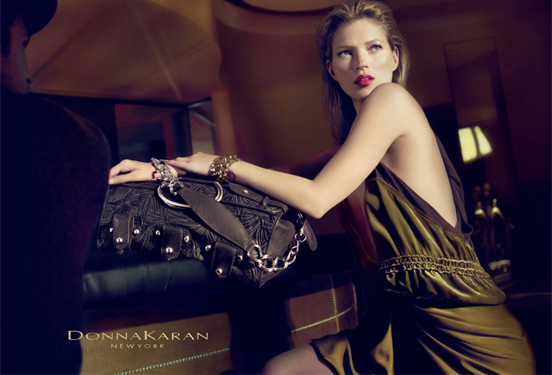 donna karan fall 20084 Throwback Thursday | Kate Moss for Donna Karan Fall 2008 Campaign