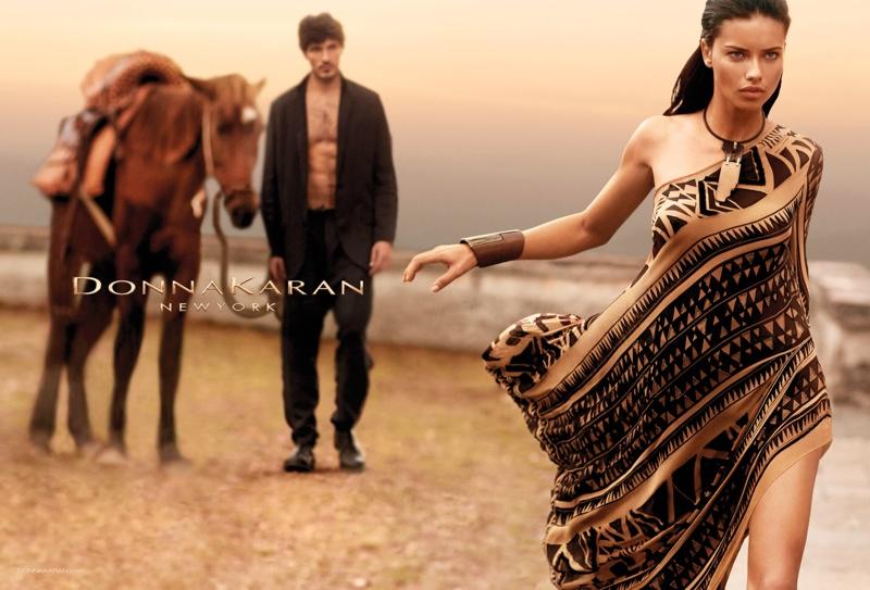 Adriana Lima Fronts Donna Karan Spring/Summer 2014 Campaign