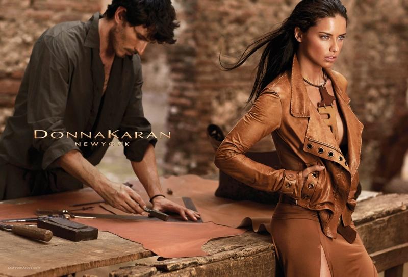 donna karan spring 2014 campaign2 Adriana Lima Fronts Donna Karan Spring/Summer 2014 Campaign