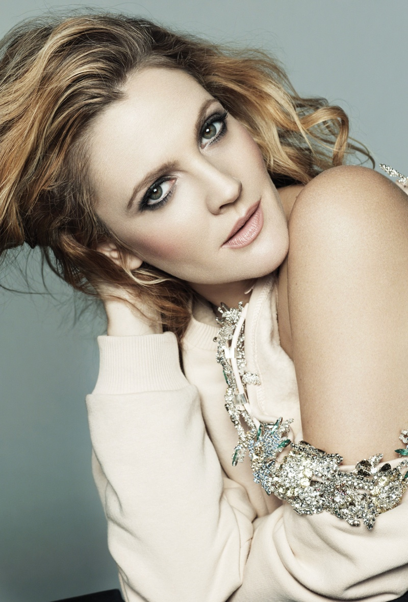 drew barrymore marie claire2 Drew Barrymore Covers Marie Claire, Calls Herself a Prude