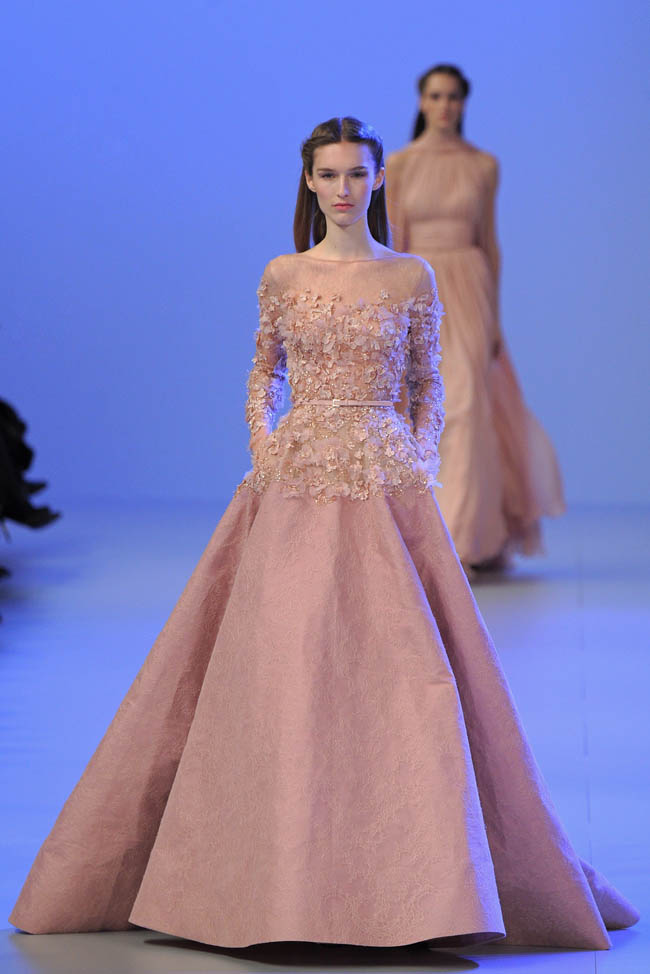 Elie saab haute couture spring summer 2014 for Hout couture