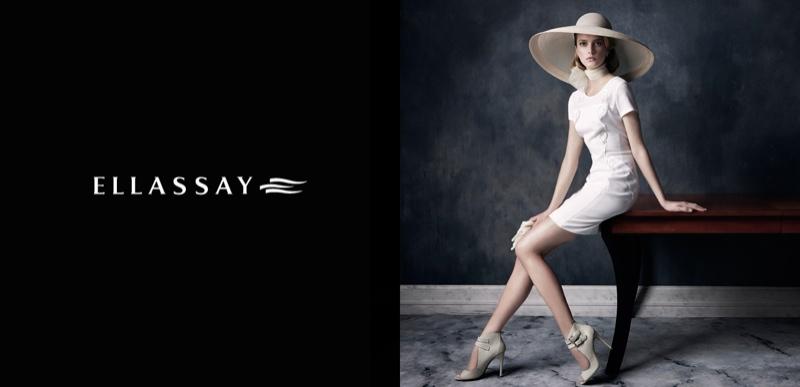 ellassay spring campaign3 Sigrid Agren Fronts Ellassay Spring/Summer 2014 Campaign