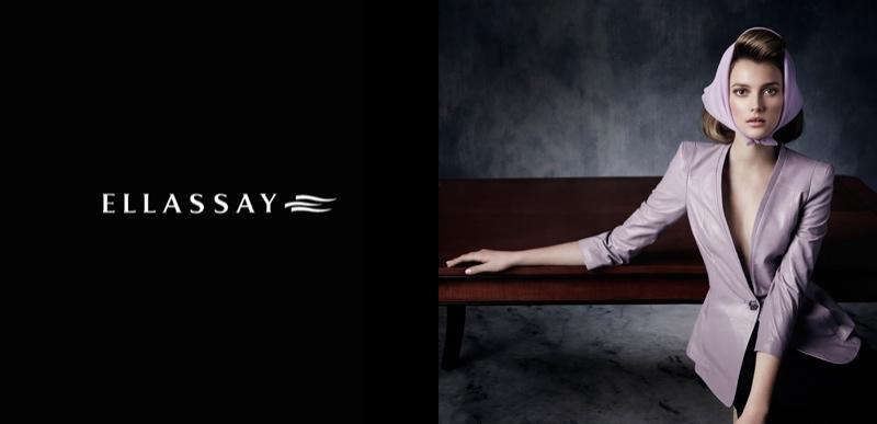Sigrid Agren Fronts Ellassay Spring/Summer 2014 Campaign
