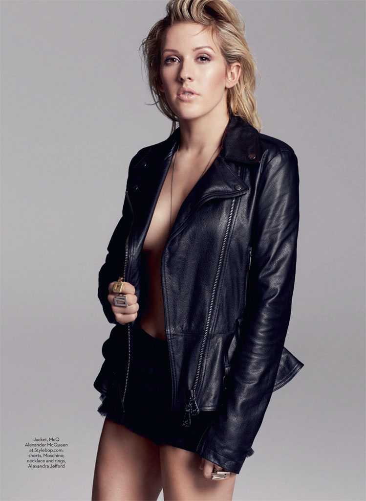 ellie goulding1 Ellie Goulding Poses for David Roemer in Marie Claire UK February 2014