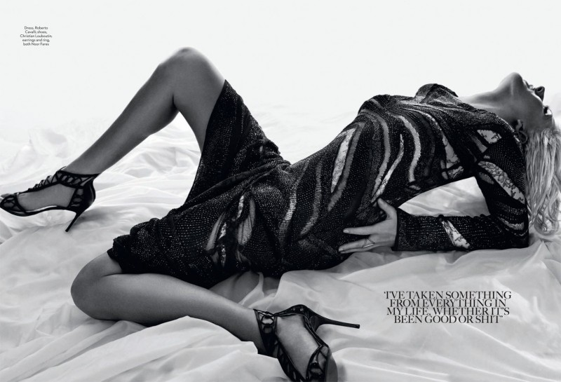 ellie goulding3 800x545 Ellie Goulding Poses for David Roemer in Marie Claire UK February 2014