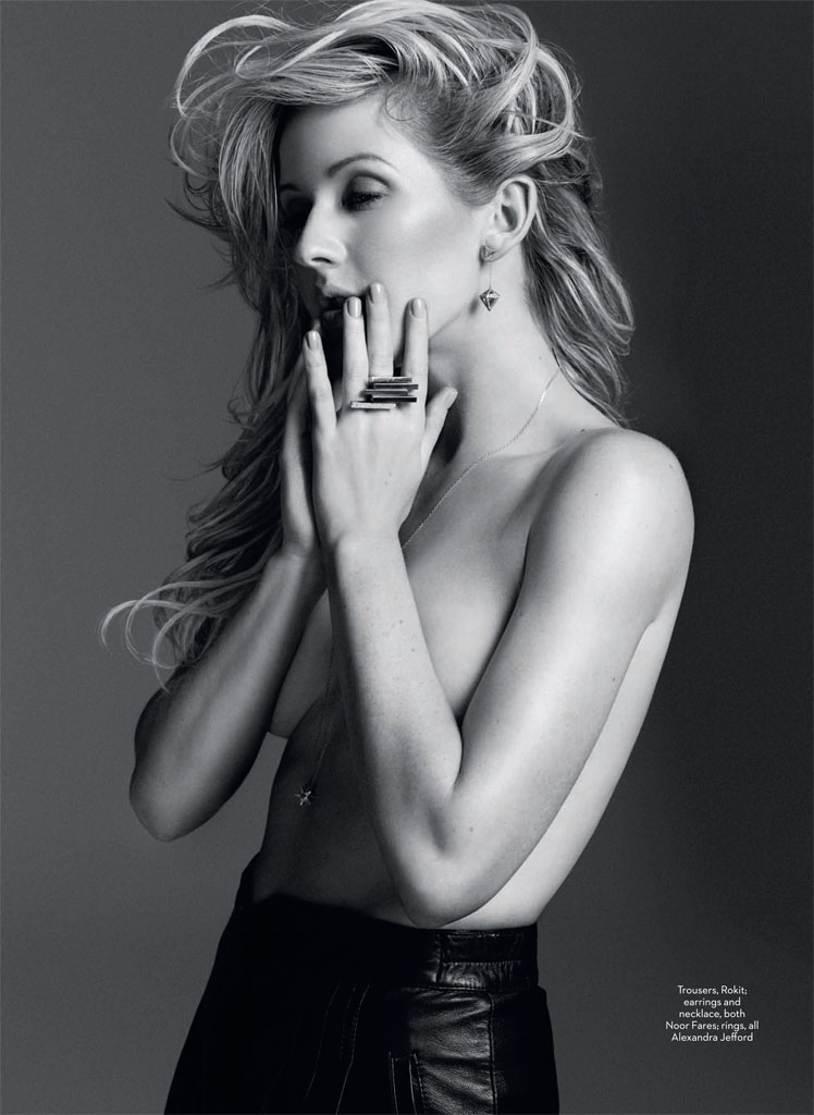 ellie goulding4 Ellie Goulding Poses for David Roemer in Marie Claire UK February 2014