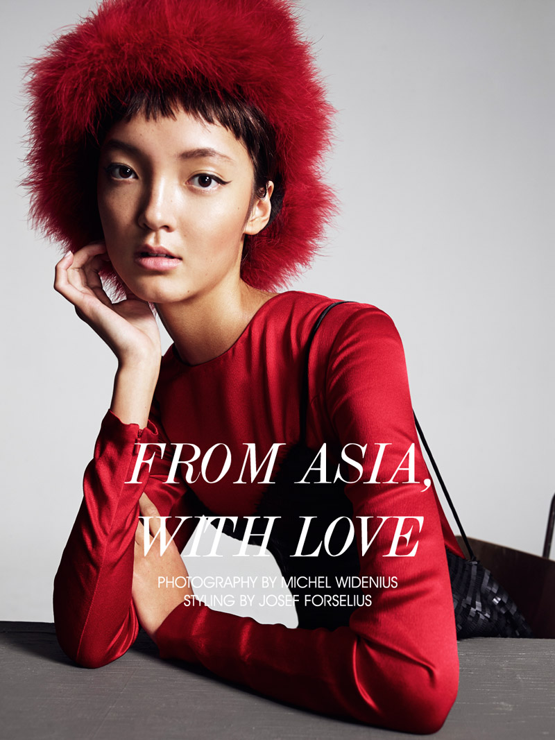 """Emelie F by Michel Widenius in """"From Asia with Love"""" for Fashion Gone Rogue"""