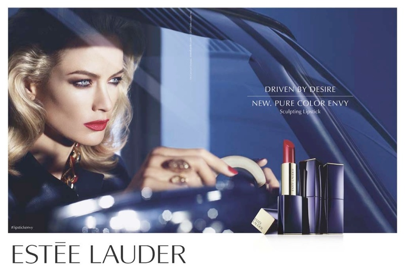 estee lauder lips1 Carolyn Murphy for Estee Lauder Pure Color Envy Sculpting Lipstick